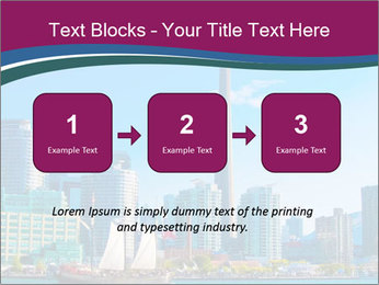 Toronto cityscape from Central Island PowerPoint Templates - Slide 71