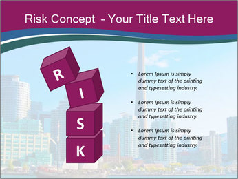 Toronto cityscape from Central Island PowerPoint Templates - Slide 81