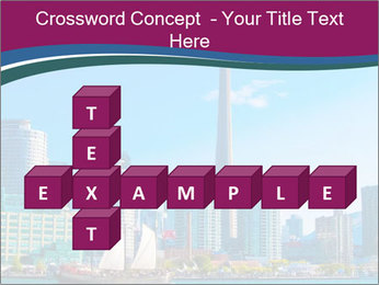 Toronto cityscape from Central Island PowerPoint Templates - Slide 82