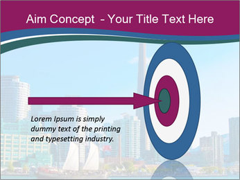 Toronto cityscape from Central Island PowerPoint Templates - Slide 83