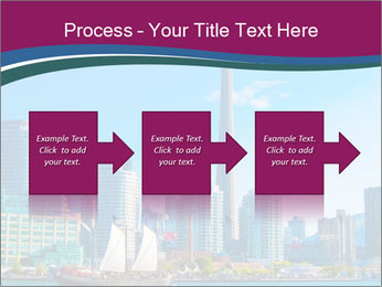 Toronto cityscape from Central Island PowerPoint Templates - Slide 88
