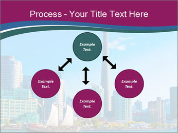 Toronto cityscape from Central Island PowerPoint Templates - Slide 91
