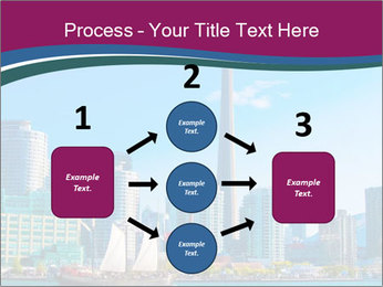 Toronto cityscape from Central Island PowerPoint Templates - Slide 92