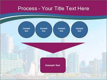 Toronto cityscape from Central Island PowerPoint Templates - Slide 93