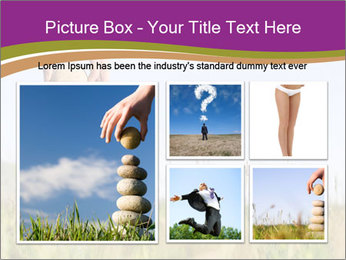Summer. Someone's hand PowerPoint Templates - Slide 19