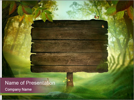 Spring design PowerPoint Templates