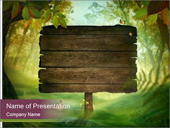 Spring design PowerPoint Template - Slide 1
