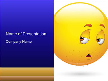 Smiley Illustration PowerPoint Templates - Slide 1