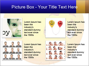 Smiley Illustration PowerPoint Templates - Slide 14