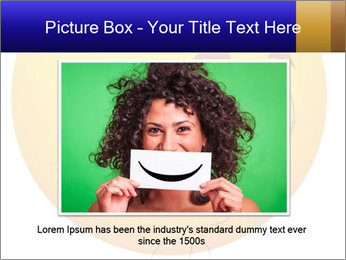 Smiley Illustration PowerPoint Templates - Slide 15