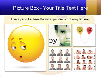 Smiley Illustration PowerPoint Templates - Slide 19