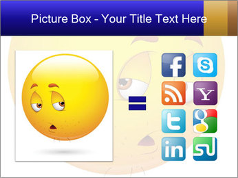 Smiley Illustration PowerPoint Templates - Slide 21