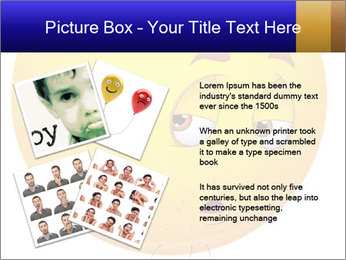 Smiley Illustration PowerPoint Templates - Slide 23
