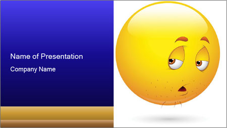 Smiley Illustration PowerPoint Template