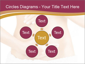 Pregnant woman stroking her belly PowerPoint Templates - Slide 78