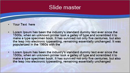 Digital illustration PowerPoint Template - Slide 2