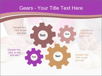 Three pair of Hands PowerPoint Templates - Slide 47