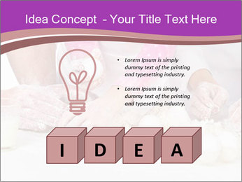 Three pair of Hands PowerPoint Templates - Slide 80