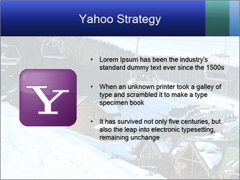 View from Bukovel ski PowerPoint Templates - Slide 11