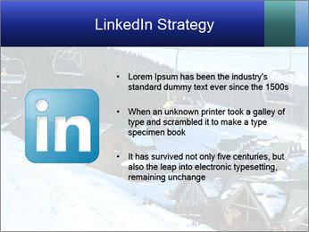 View from Bukovel ski PowerPoint Templates - Slide 12