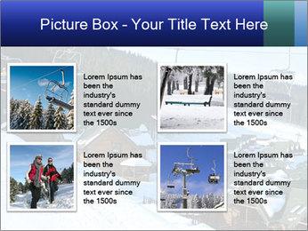 View from Bukovel ski PowerPoint Templates - Slide 14