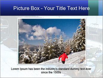 View from Bukovel ski PowerPoint Templates - Slide 15