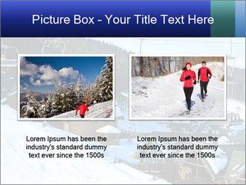 View from Bukovel ski PowerPoint Templates - Slide 18