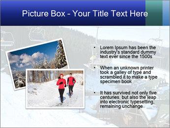 View from Bukovel ski PowerPoint Templates - Slide 20