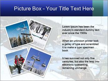 View from Bukovel ski PowerPoint Templates - Slide 23