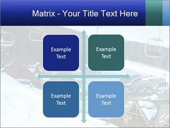 View from Bukovel ski PowerPoint Templates - Slide 37