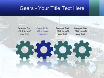 View from Bukovel ski PowerPoint Templates - Slide 48
