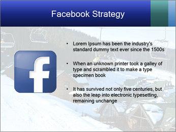 View from Bukovel ski PowerPoint Templates - Slide 6