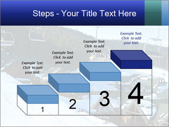 View from Bukovel ski PowerPoint Templates - Slide 64