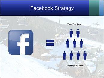 View from Bukovel ski PowerPoint Templates - Slide 7