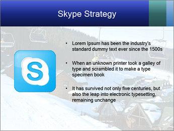 View from Bukovel ski PowerPoint Templates - Slide 8
