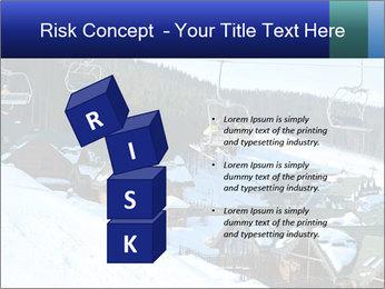 View from Bukovel ski PowerPoint Templates - Slide 81