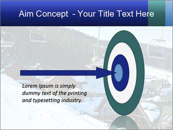 View from Bukovel ski PowerPoint Templates - Slide 83