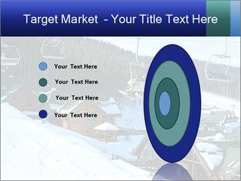 View from Bukovel ski PowerPoint Templates - Slide 84