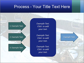 View from Bukovel ski PowerPoint Templates - Slide 85