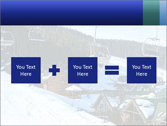 View from Bukovel ski PowerPoint Templates - Slide 95