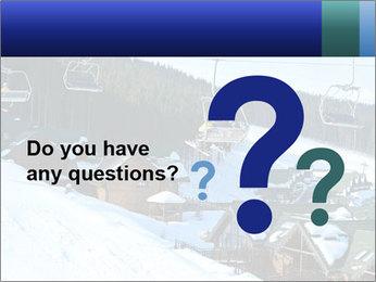 View from Bukovel ski PowerPoint Templates - Slide 96