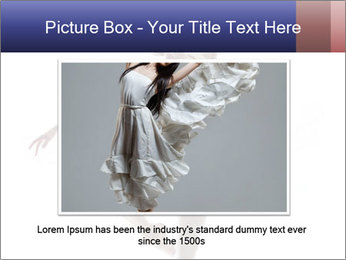 Young beautiful dancer PowerPoint Templates - Slide 16