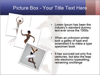 Young beautiful dancer PowerPoint Templates - Slide 17