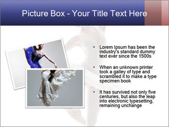 Young beautiful dancer PowerPoint Templates - Slide 20