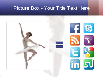 Young beautiful dancer PowerPoint Templates - Slide 21