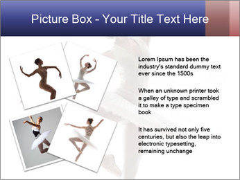 Young beautiful dancer PowerPoint Templates - Slide 23