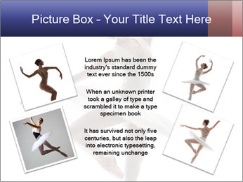 Young beautiful dancer PowerPoint Templates - Slide 24