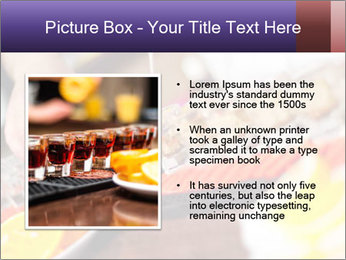 Bartender pours alcoholic drink PowerPoint Templates - Slide 13