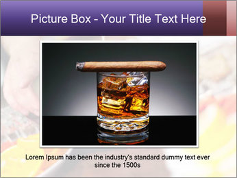 Bartender pours alcoholic drink PowerPoint Template - Slide 15