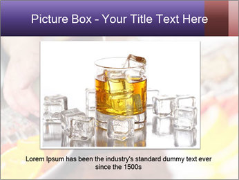 Bartender pours alcoholic drink PowerPoint Template - Slide 16